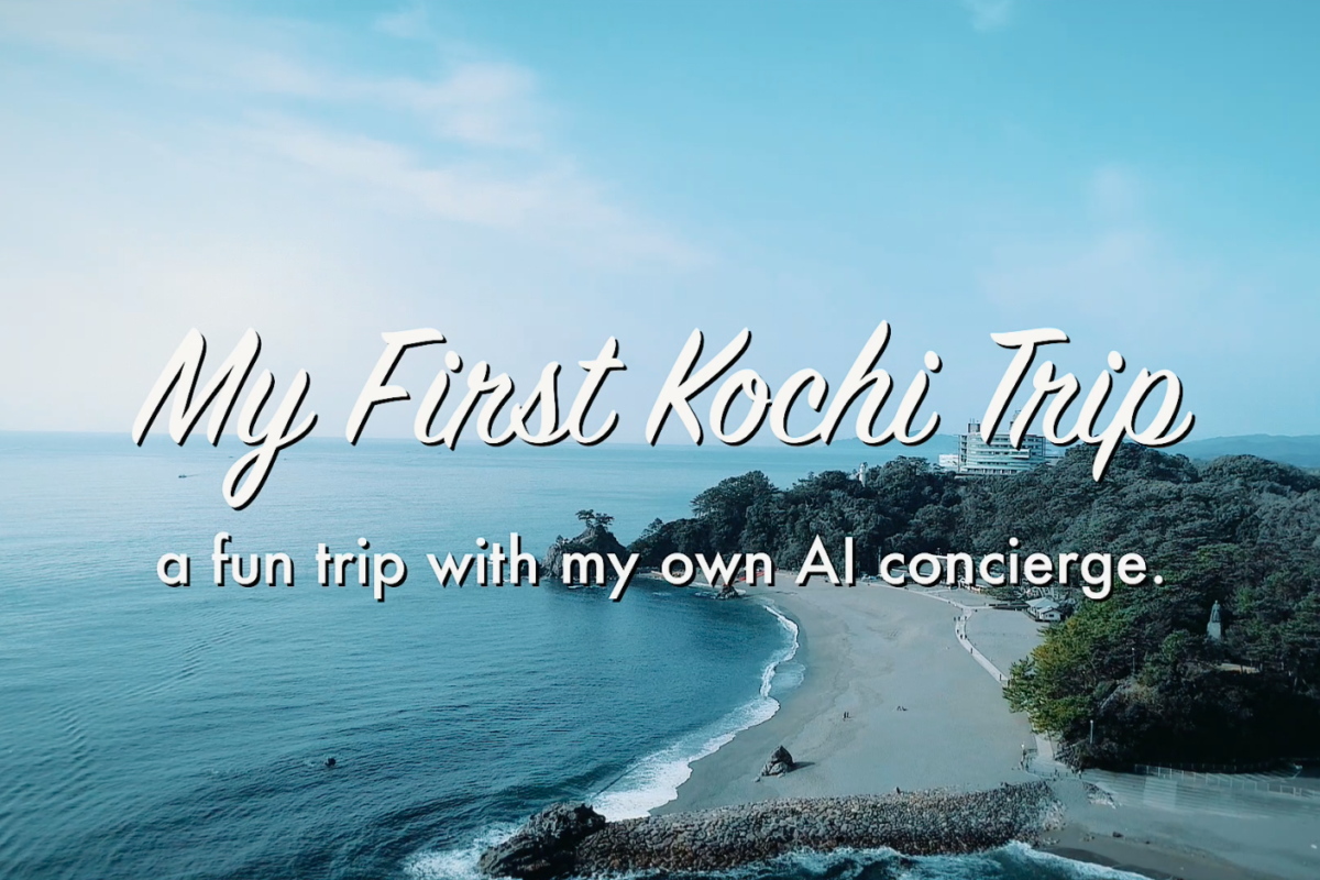 My First trip to Kochi in Japan ~a fun trip with myown AI concierge~